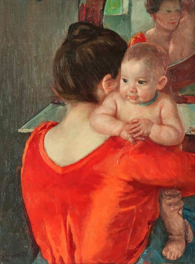 Toda la ternura de Mary Cassatt.