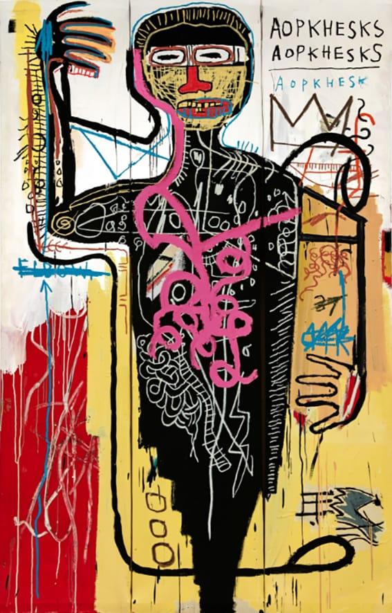 Basquiat de 50 millones.
