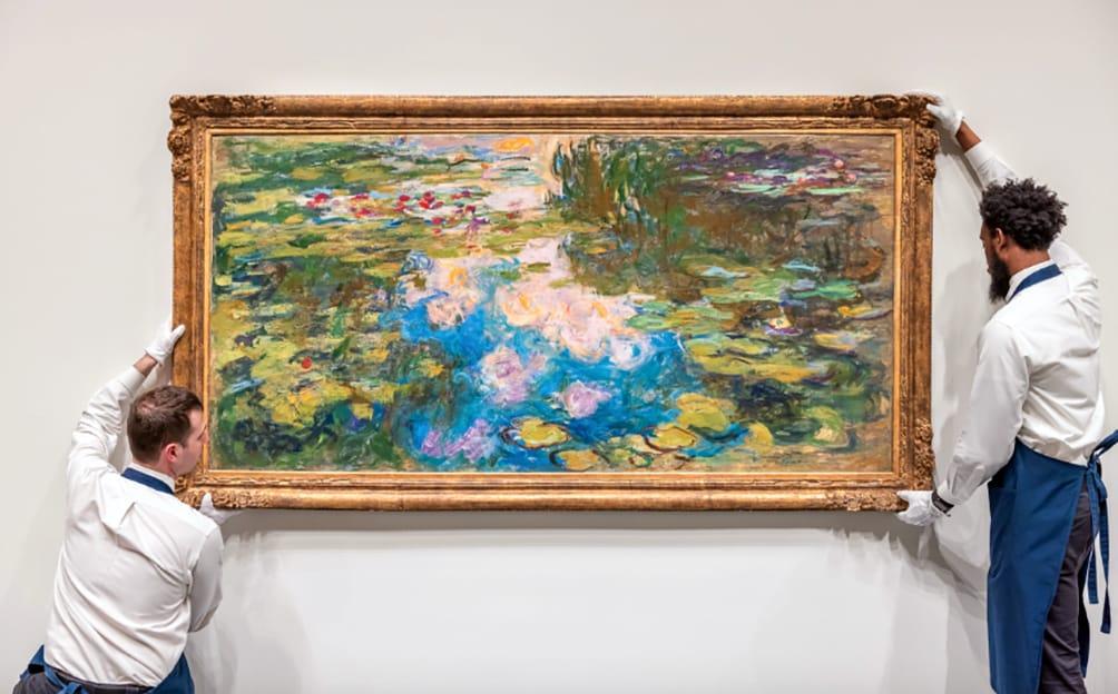 Claude Monet, 70 millones por nenúfares.
