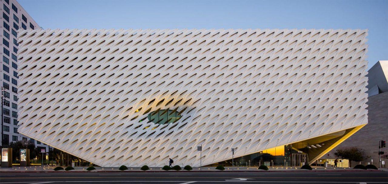 """Museo de arte contemporáneo """"The Broad"""", Los Ángeles."""