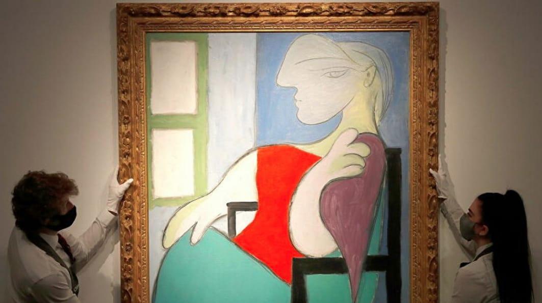 Picasso vendido en 103 millones de dólares por Christie's.