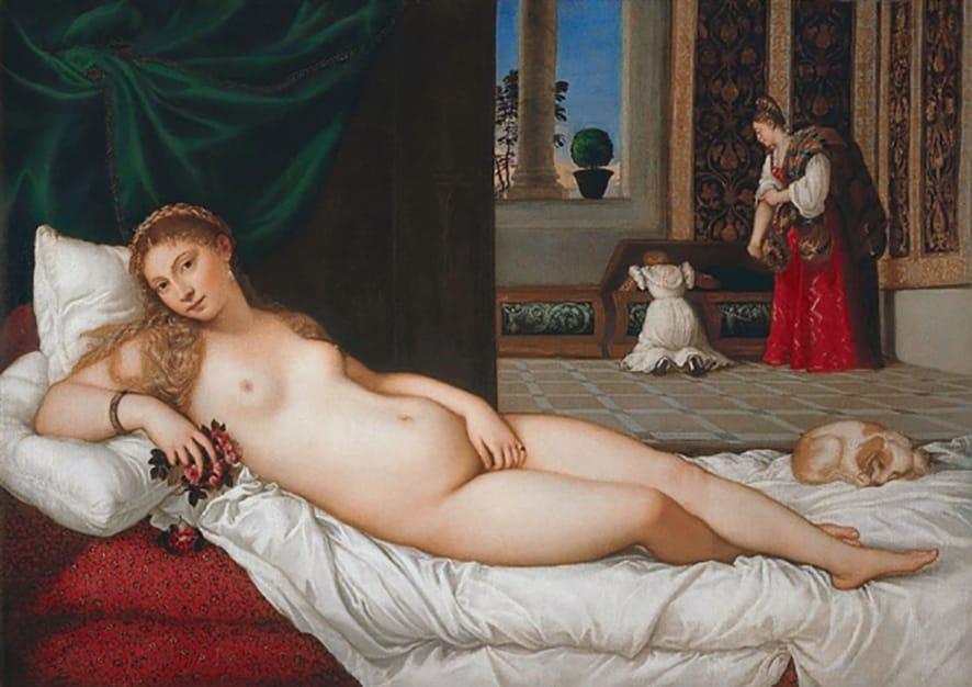 Venus de Urbino, 1538.